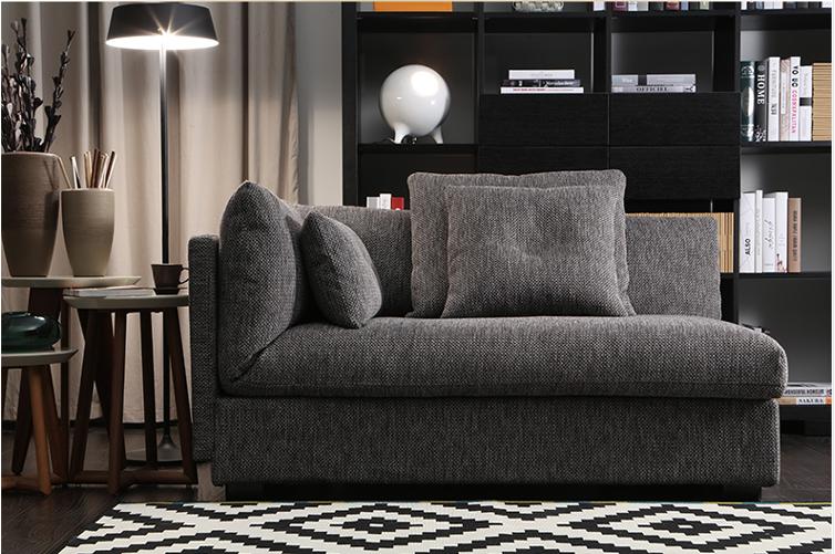 italienisch moderne schlichte design grau stoff sofa wohnzimmer m belstoff sofa wohnzimmer sofa. Black Bedroom Furniture Sets. Home Design Ideas
