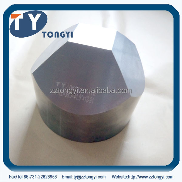 tungsten carbide anvil with mirror surface from Zhuzhou long production experience manfuacturer