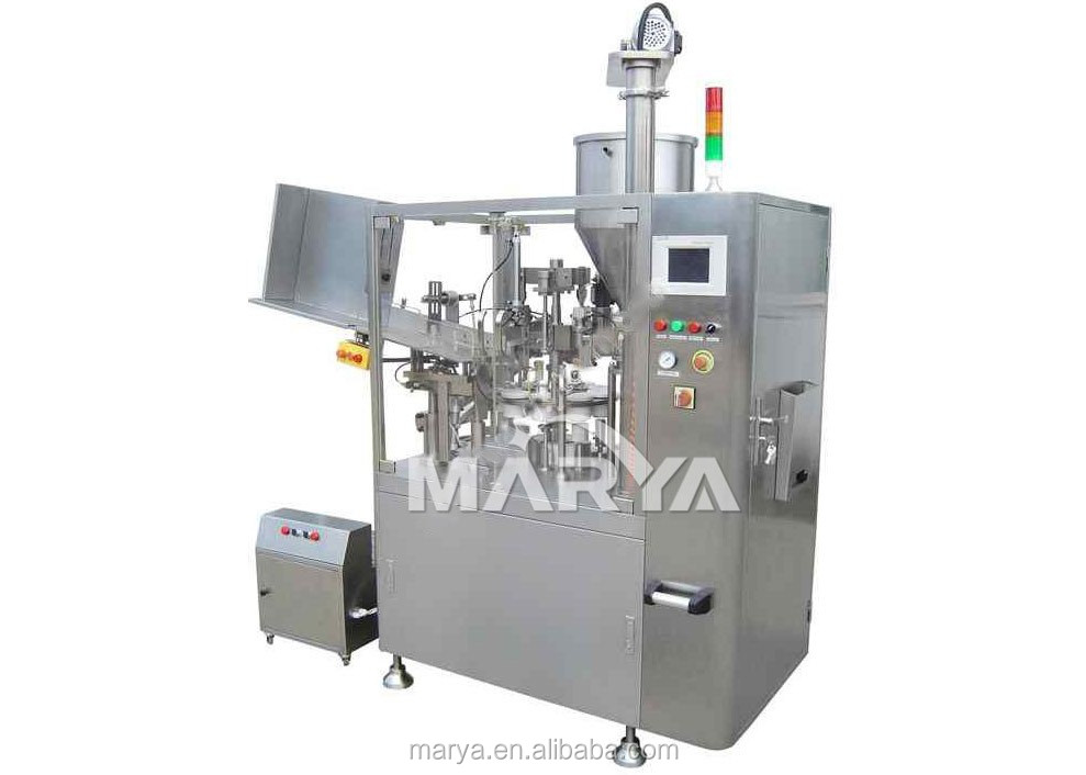 Aluminium plastic laminated tube filling and sealing machine,filing sealing machine