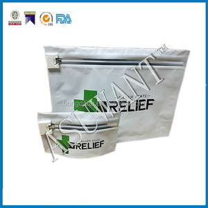 PDA/ASTM Approvable child resistant packing pouch bag with a Child Proof Locking System for Medical seed Packaging