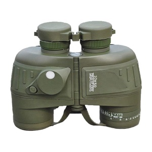 Marine Floating Binocular Internal Rangfinder Compass 10x50 Military Telescope