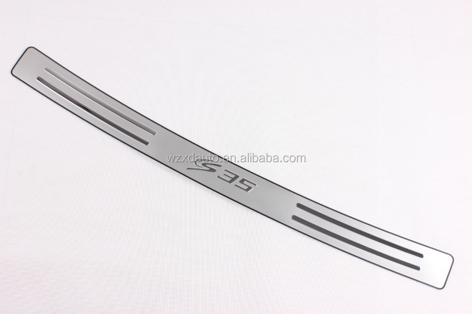 SUV ACCESSORIES STAINLESS STEEL REAR BUMPER FOOT PLATE FOR CHANA CHANGAN CS35 2013 2014 2015