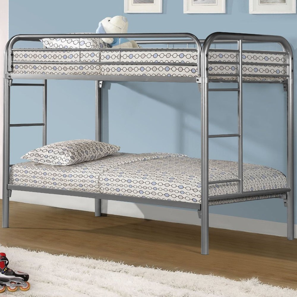Simple Design Double Decker Bed Price Bedroom Metal Double ...