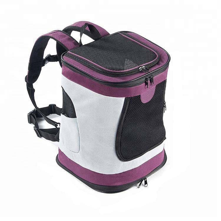Breathable Fashion Soft Sided Collapsible Pet Carrier