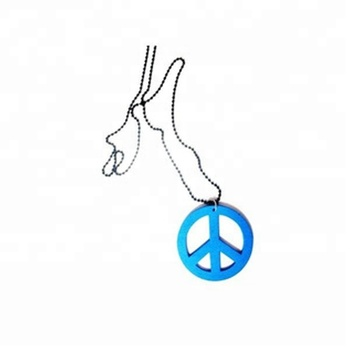 2018 Wooden Peace Necklace