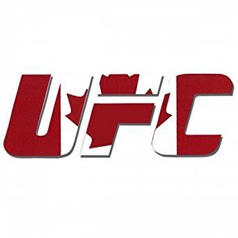UFC Canada Diecut Decal