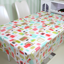 Eco-Friendly PVC New Printed Table Clothes Heat Resistant Table Cloth