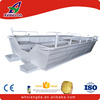 Rowing aluminum v hull large fishing boat