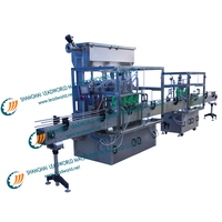 automatic used cooking oil filling machine