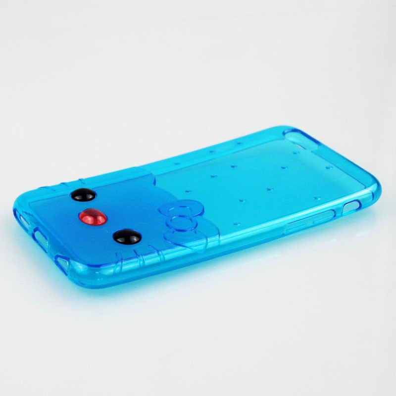cutie cat grain crystal jelly tpu case For Gigabyte GSmart Mika M3