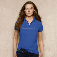 High Quality 100% Cotton Short Sleeve Polo Shirt For Women Quick Dry Cotton Polo Shirt