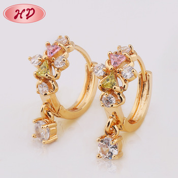 girls earrings jewelry beautiful gold detail buy designs product for models