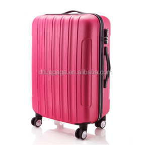 cheap abs cabin primark luggage trolley case with aluminum trolley
