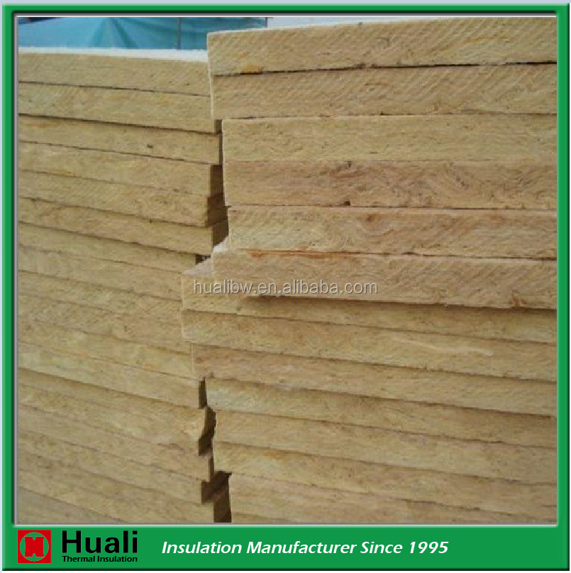 soundproofing rock wool board with fire resistant properties