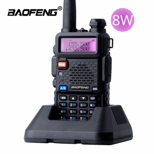Cheap High Power Walkie Talkie 8 watt UV5R Long Range Baofeng UV-5R Vhf/Uhf Dual Band Two Way Ham Radio