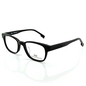 7bb953b4074 Get Quotations · PenSee Mens Eyeglasses Prescription Black Optical Demo  Lens Frames Eyewear