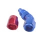 AN8 45 Degree Swivel Enforced Aluminum Hose End Fit Oil Fuel Adapter 8-AN