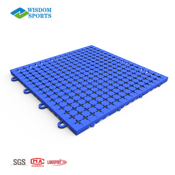 2018 Outdoor Polypropylene Pp Sports Interlocking Flooring Tile For Modular Basketball Court