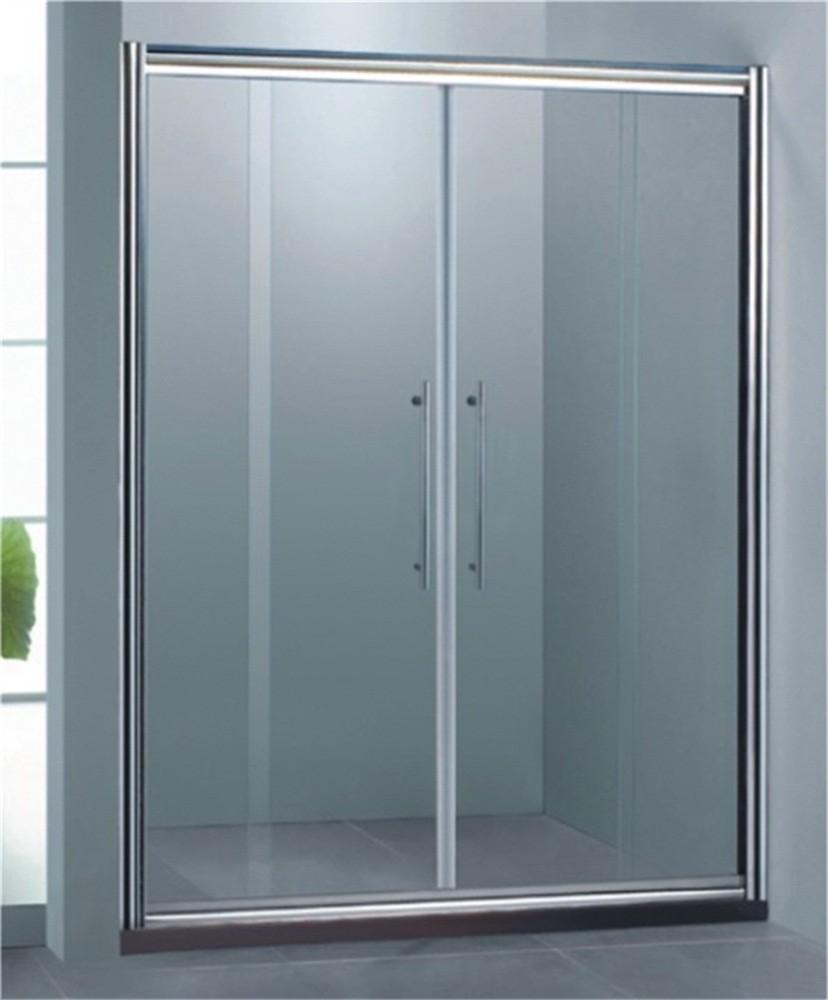 Easy Installation Adjust Aluminum Frame Shower Door - Buy Frame ...