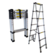 2.6m telescopic ladder with one by one telescopic mechanism