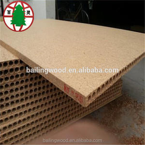 19years plant 28mm high quality hollow chipboard particle board for sale