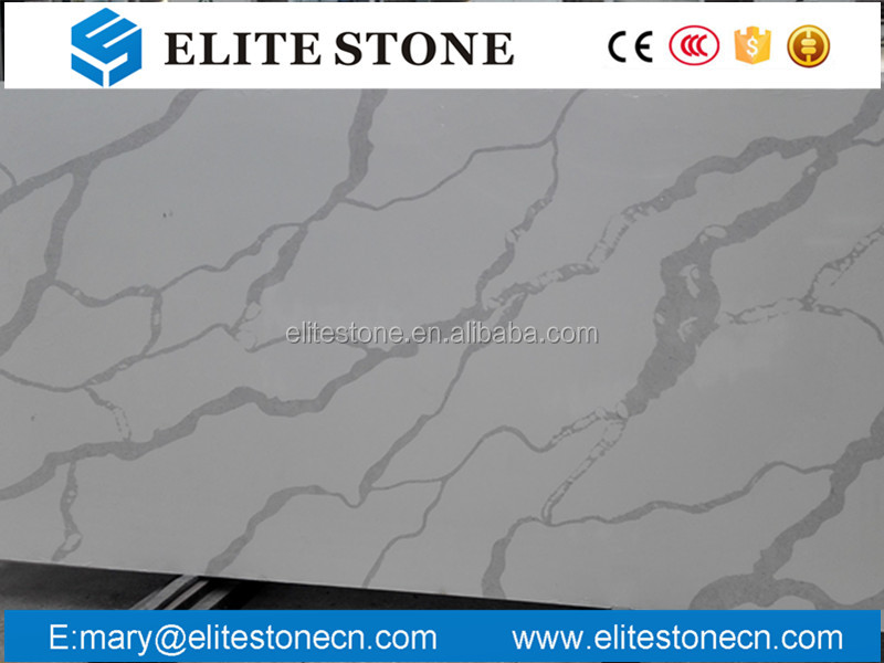 Italy Statuario Quartz White, Statuary white quartz slabs