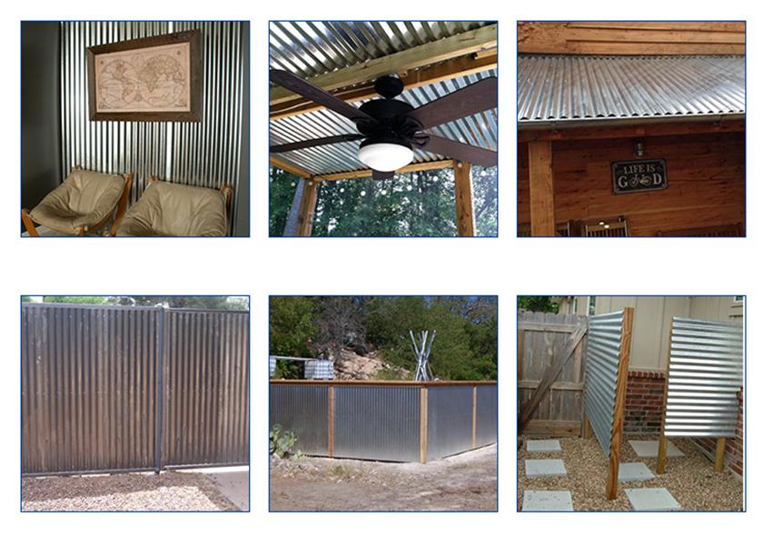 tole ondule de fer en acier galvanis feuille de toiture ondul e en zinc buy t le d 39 acier. Black Bedroom Furniture Sets. Home Design Ideas
