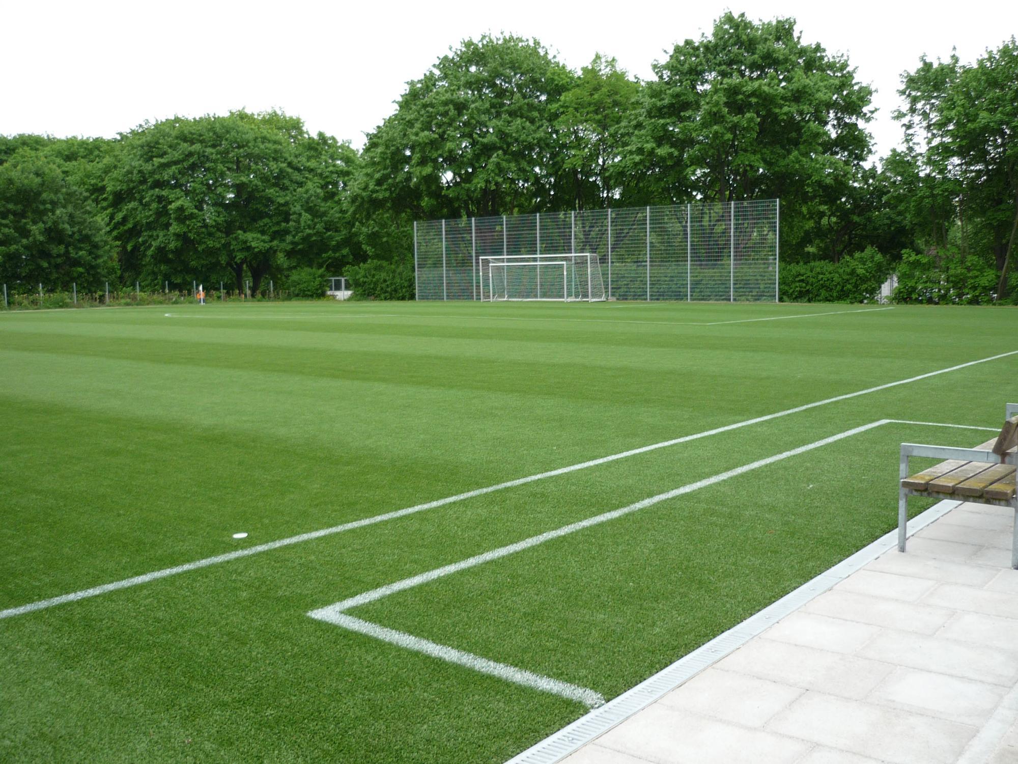 Meest populaire kunstgras voor voetbal kunstgras veld