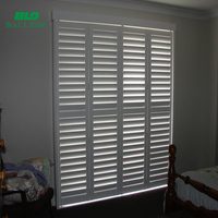 Customized Color Cheap Price Anti-bad Weather Aluminum Flexible Louvers Exterior Plantation Window Shutter