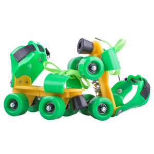 popular and adjustable size kids attachable roller dry skates