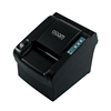 (OCPP-802) 80MM Black Thermal Hotel Restaurant Bill Printer With Manual Cutter