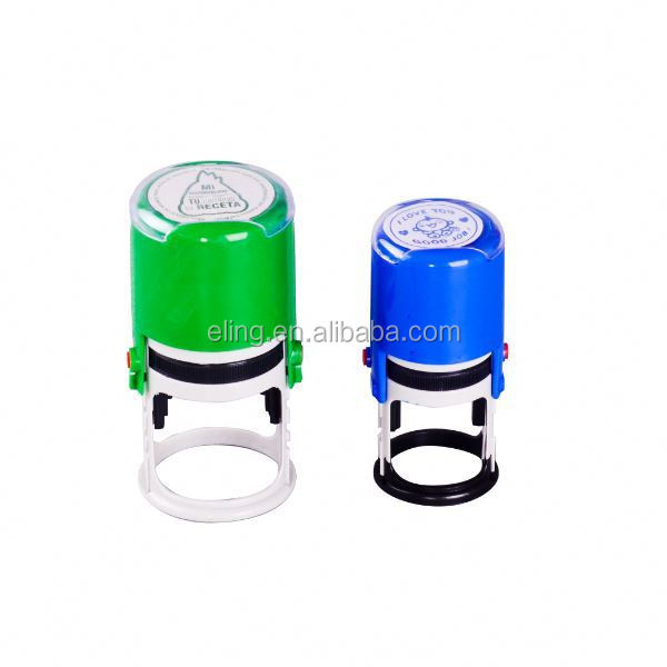 Plastic Self inking Stamp kids abs stamp