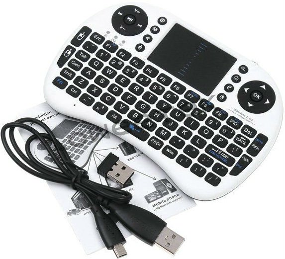 Rii I8 Spanish Wireless Keyboard And Mouse For Samsung Smart Tv ...