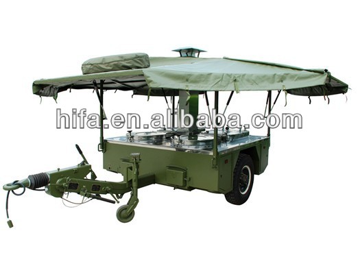 Military &Police Armed Force Field Mobile Kitchen Trailer