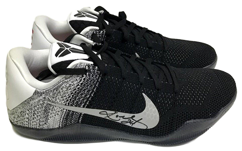 Get Quotations · Kobe Bryant Signed Nike Kobe XI Elite Low Top B W  Basketball Sneakers JSA c43ce111d
