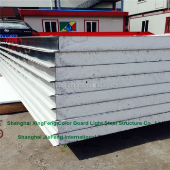 Aluminum composite boards eps roof and wall sandwich for Sip panels buy online