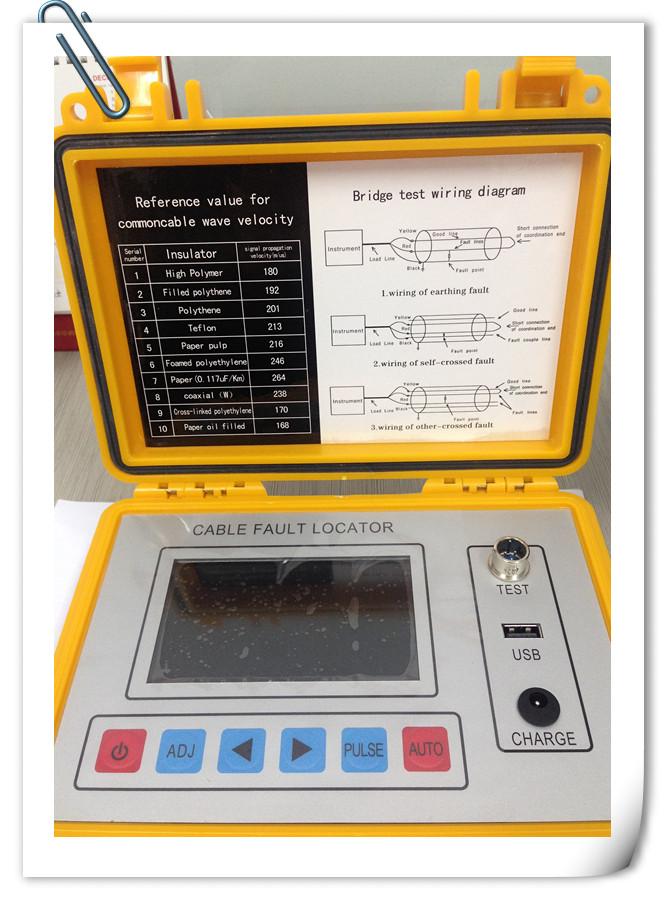 Cable Fault Locator Manufacturers : St tdr intelligent bridge cable fault locator