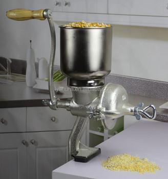Safe Operating Hand Crank Corn Grinder #150 Grain Grinder With Food Safe  Tin Coating - Buy Manual Corn Grinder,Manual Corn Mill,Manual Melt Mill