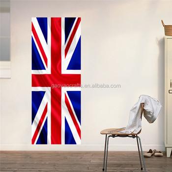 3D Door sticker British flag UK banner Great Britain England London mural decol film self- & 3d Door Sticker British Flag Uk Banner Great Britain England London ...