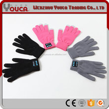 high quality fashion China Bluetooth gloves