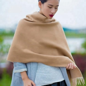 Factory supply breathable merino wool scarf