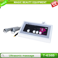 Ultrasonic skin rejuvenation home device with spot removal
