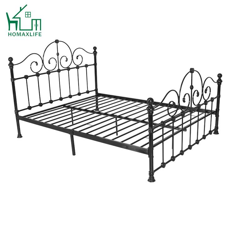 Free Sample Steel Cots Metal Furniture Pakistan Iron Bed ...
