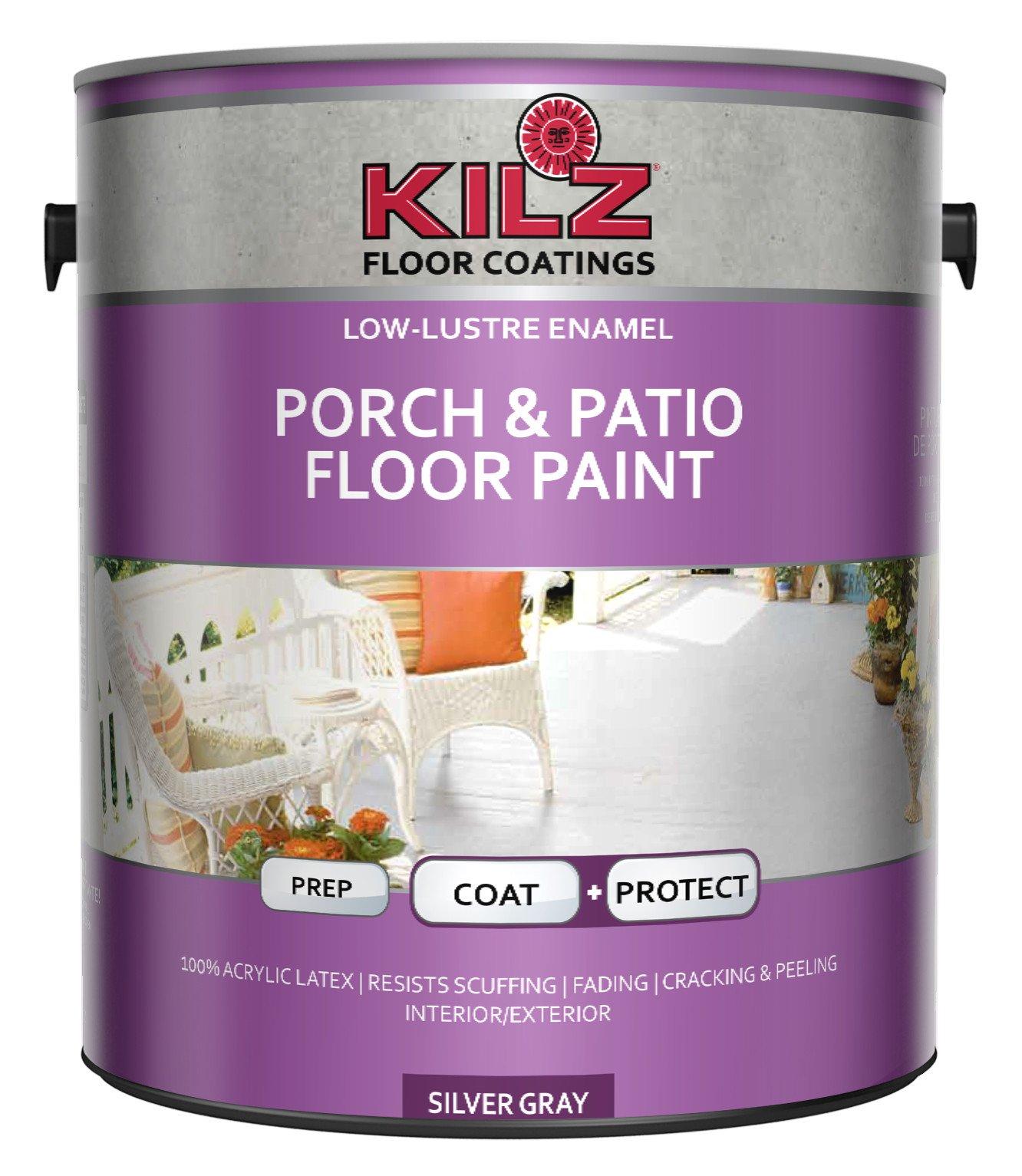 Charmant Get Quotations · KILZ Interior/Exterior Enamel Porch U0026 Patio Latex Floor  Paint, Low Lustre,