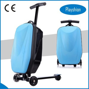2015 Popular products scooter suitcase,scooter luggage box,trolley suit scooter