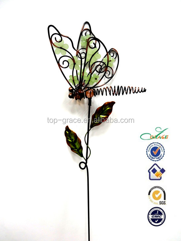 Metal Dragonfly Garden Decoration Metal Dragonfly Garden