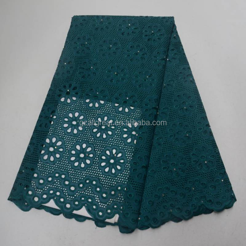 AG7236 Good material New design  High Quality African Swiss Lace Fabrics