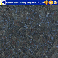 Chinese stone factory the prices of Butterfly blue granite per meter