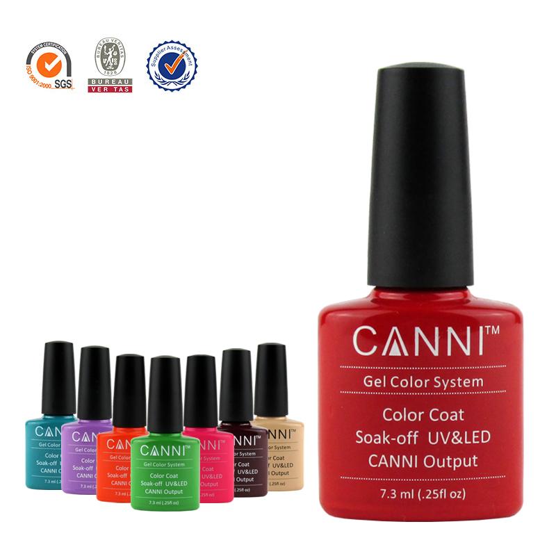 Popular 1Pcs CANNI UV LED Soak Off Nail UV Gel Polish Varnishes Lacquer Color Coat You