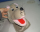 high quality New design cute grey wolf animal finger hand,hand puppets toy for sale